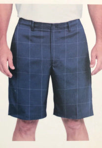 NWT Pebble Beach Men's Dry-Luxe Performance Comfort Waist Shorts Navy Select Size