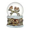 Musical Owl Water Globe