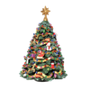Jingle Bell Rotating Christmas Tree Fig