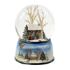 Winter Cottage with Carolers 100mm SnowGlobe