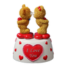 Kissing Bears Animated FIG