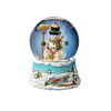 "Gary Patterson ""Happy Holidays"" Snowman Snow Globe"
