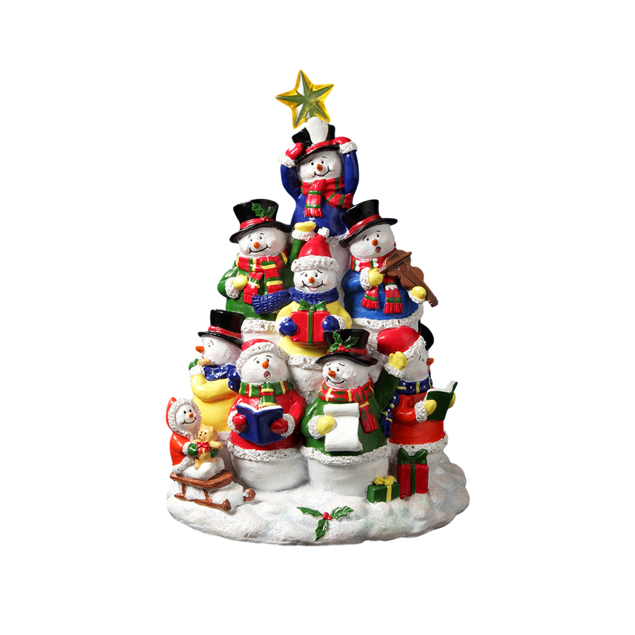 Snowing And Musical Christmas Tree: Musical Gifts, Snow Globes And