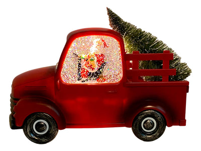 Light Up Musical Santa in Red Truck