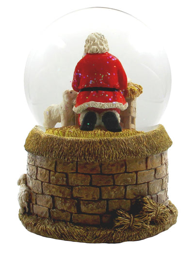 Santa and Baby Musical Water Globe