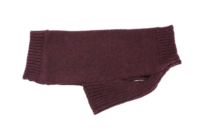 Clementine Est. For Dogs Auden Sweater In Black Grape From Keeper & Co.