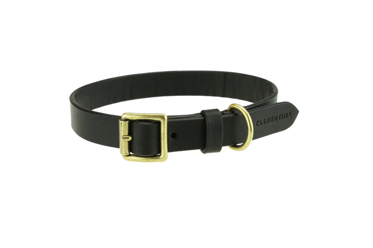 Beaton Flat Leather Collar