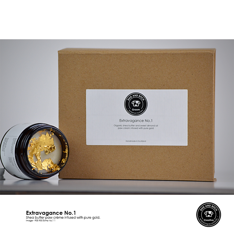 Extravagance No. 1 - A decadent shea butter balm infused with gold