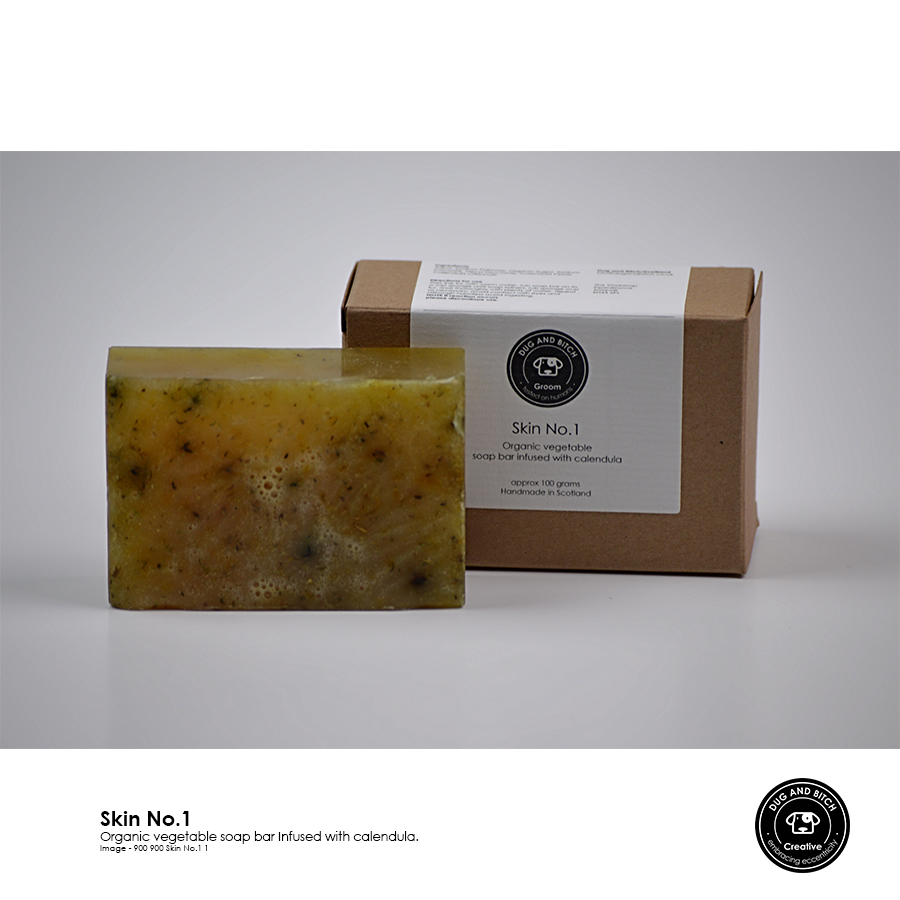 Skin No. 1, 2 & 3 - Choice of calendula, echinacea, or avens oat soap