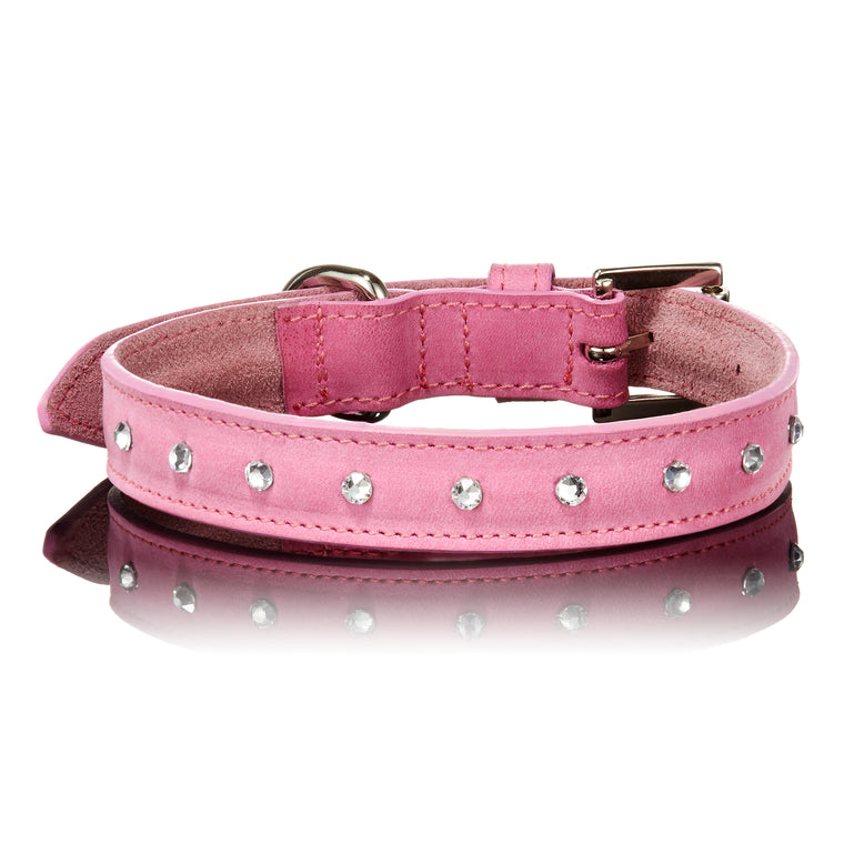 Swarovski Collar in Light Pink