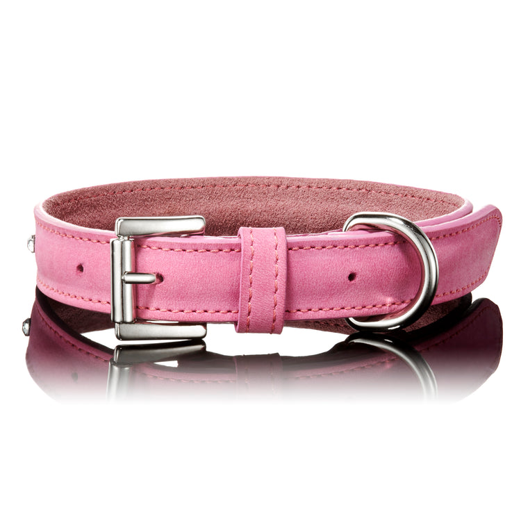 Keeper & Co - Paws With Opulence Baby Pink Swarovski Collar image 2
