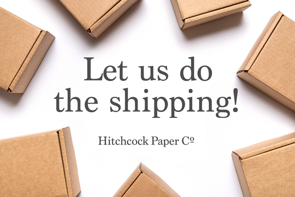 Let us do the shipping!