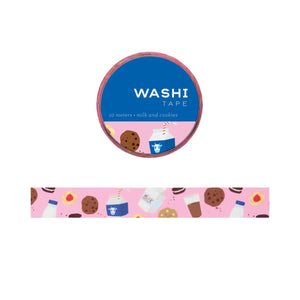 Milk and Cookies Washi Tape