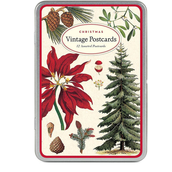 Christmas Botanica Postcard (Set of 12)
