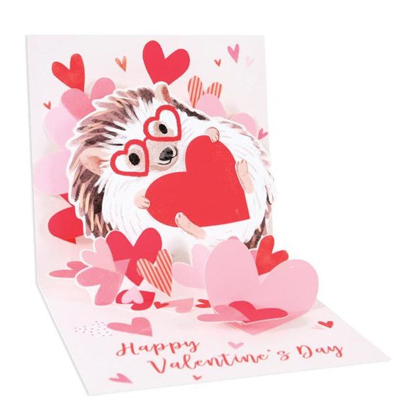 Hedgehog Love Pop-up Card