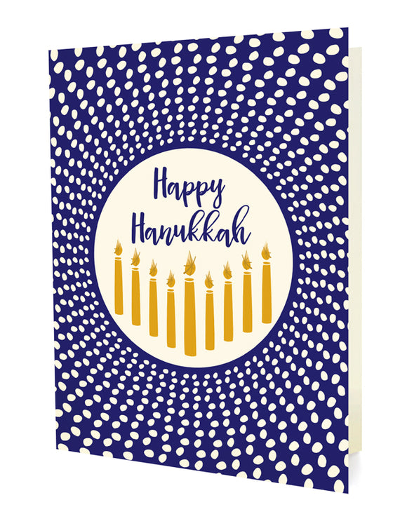 Radiant Hanukkah Cards