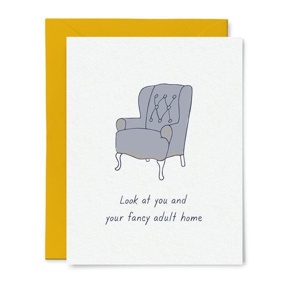 Fancy Adult Home Card