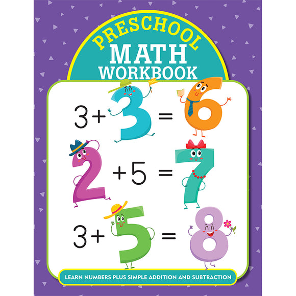 Preschool Math Workbook