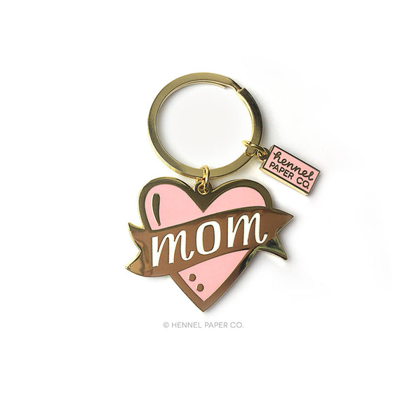 Mom Keychain