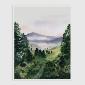 Dawn Meadow Art Print