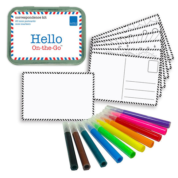 Kittd On-The-Go Hello Stationery
