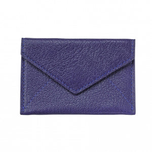 Mini Envelope/Business Card Holder - Indigo