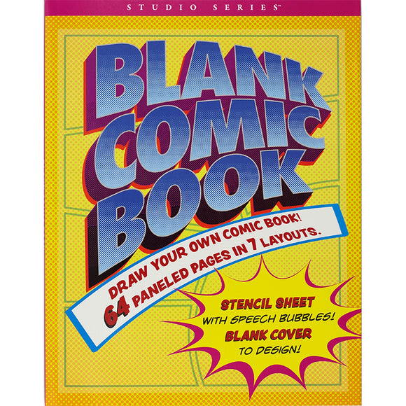 Coming Soon! Blank Comic Book