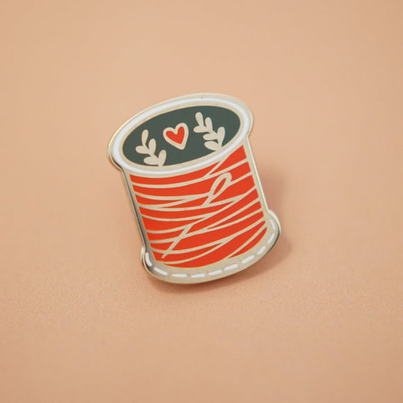 Spool of Thread Enamel Pin