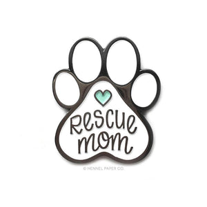 Rescue Mom Enamel Pin