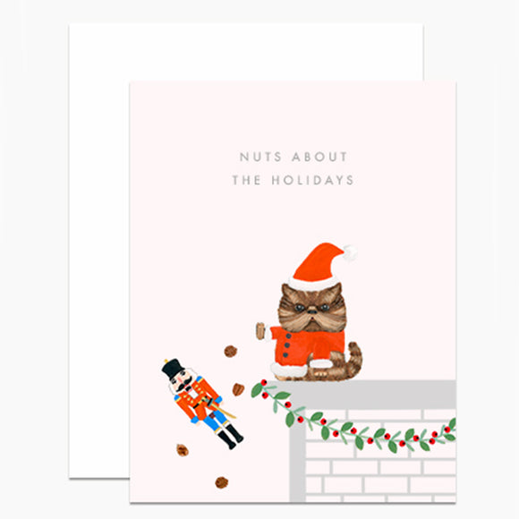 Nuts About the Holidays Card