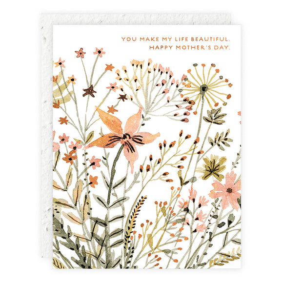 Wildflowers Card