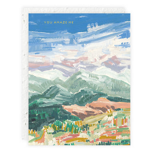 Mountain Tops Card