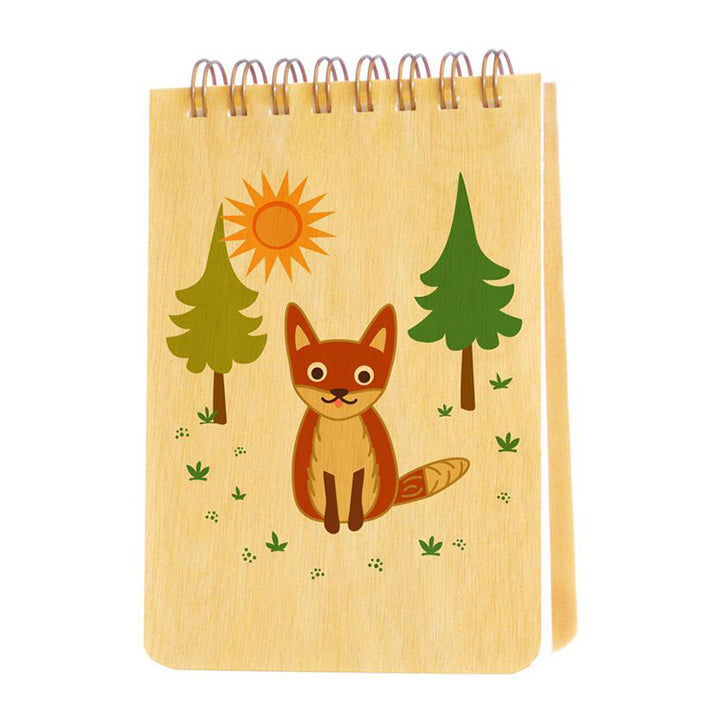 Mini Jotter Notebook - Fox