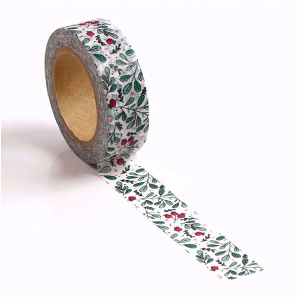 Holly Berry Washi Tape