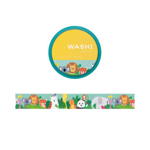 Zoo Animals Washi Tape