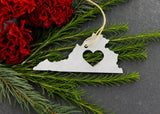 Virginia Metal Ornament