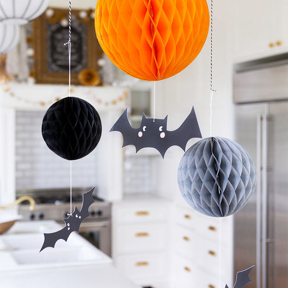 Honeycomb and Bat Decor