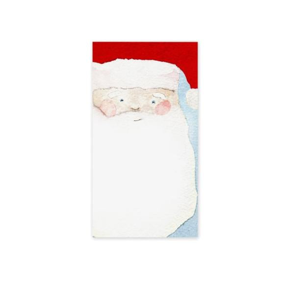 Santa Notepad Gift Set