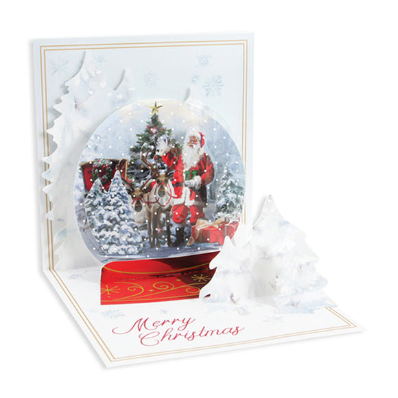 Snow Globe Treasures Pop-up Card