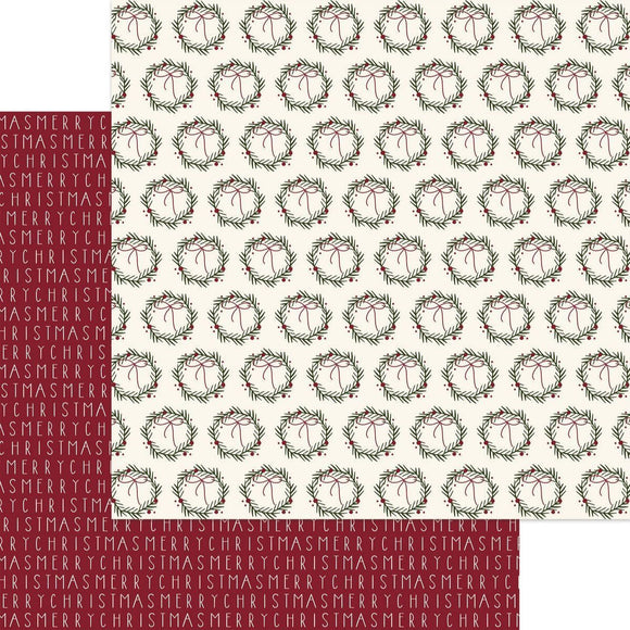 Winterberry 12 x 12 Paper - Merry Berry