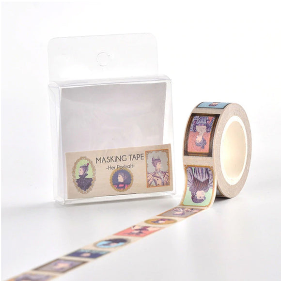 Her Portrait Washi Tape