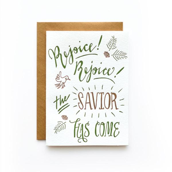 Rejoice Rejoice Holiday Greeting Card (Box Set of 6)