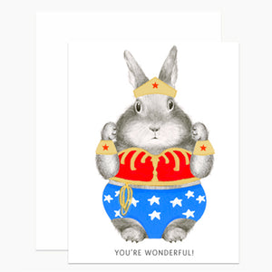 Wonder Bunny Card (Set of 6)