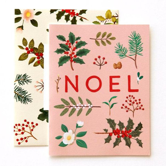 Holiday Plants Noel Card (Set or Single)