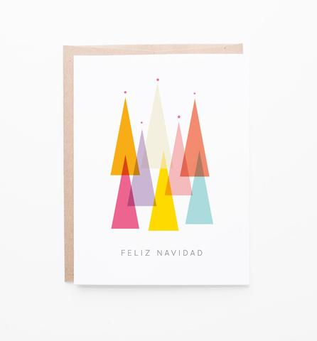 Feliz Navidad Spanish Holiday Greeting Card