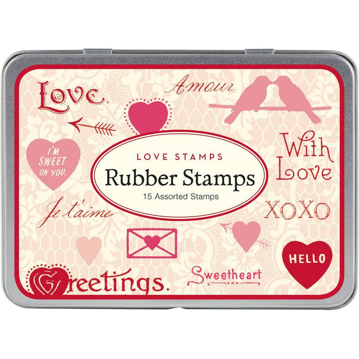Love Rubber Stamp Set