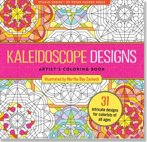 Kaleidoscope Designers Coloring Book