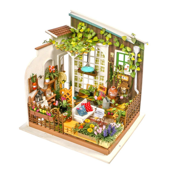 Miller's Garden DIY Miniature Dollhouse Kit