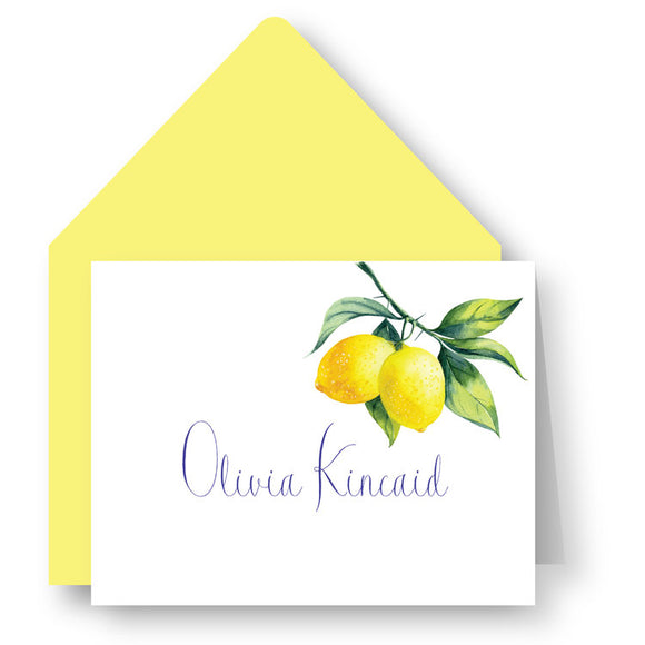 Folded Notecards - Lemon Sunshine 34