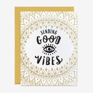 Sending Good Vibes Card